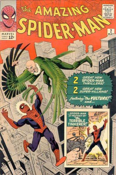 Amazing Spider-Man #2 comic books - cover scans photos Amazing Spider-Man #2 comic books - covers, picture gallery