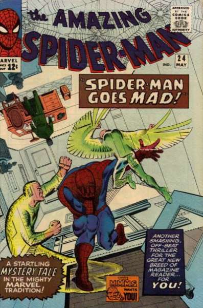 Amazing Spider-Man #24 comic books - cover scans photos Amazing Spider-Man #24 comic books - covers, picture gallery