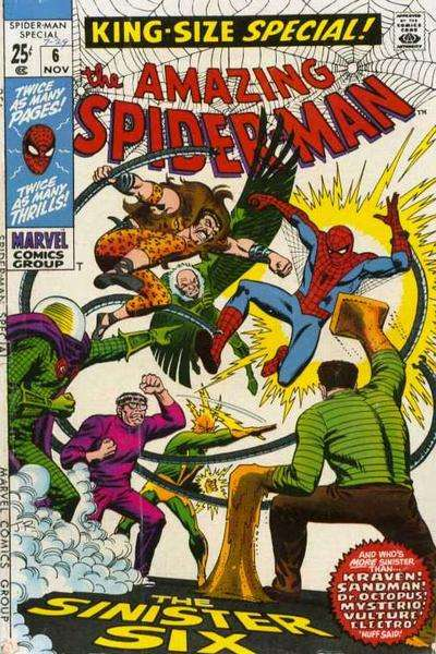 Amazing Spider-Man #6 comic books - cover scans photos Amazing Spider-Man #6 comic books - covers, picture gallery