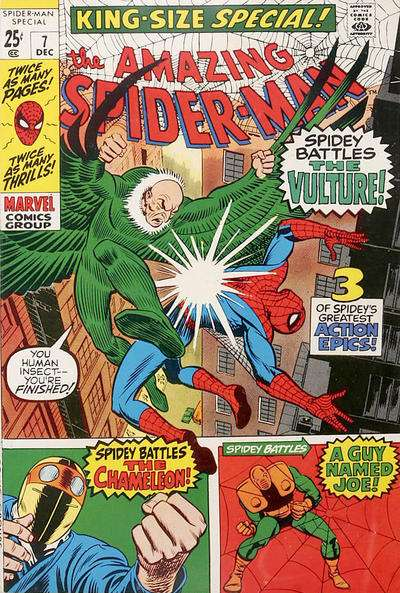 Amazing Spider-Man #7 comic books - cover scans photos Amazing Spider-Man #7 comic books - covers, picture gallery
