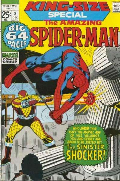 Amazing Spider-Man #8 comic books - cover scans photos Amazing Spider-Man #8 comic books - covers, picture gallery