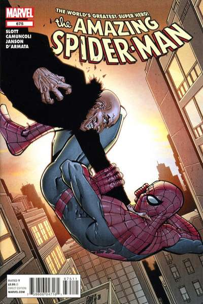 Amazing Spider-Man #675 Comic Books - Covers, Scans, Photos  in Amazing Spider-Man Comic Books - Covers, Scans, Gallery