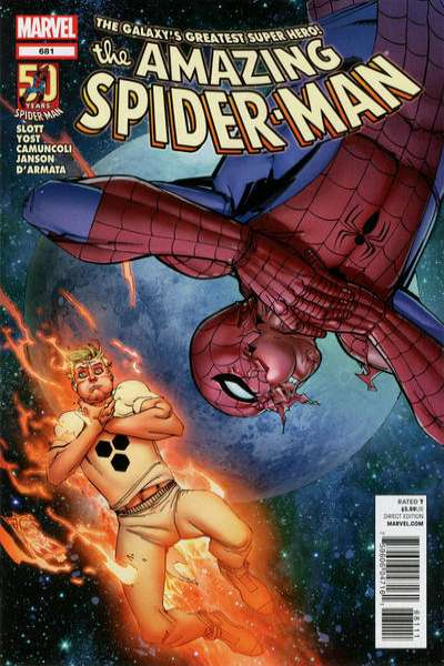 Amazing Spider-Man #681 Comic Books - Covers, Scans, Photos  in Amazing Spider-Man Comic Books - Covers, Scans, Gallery