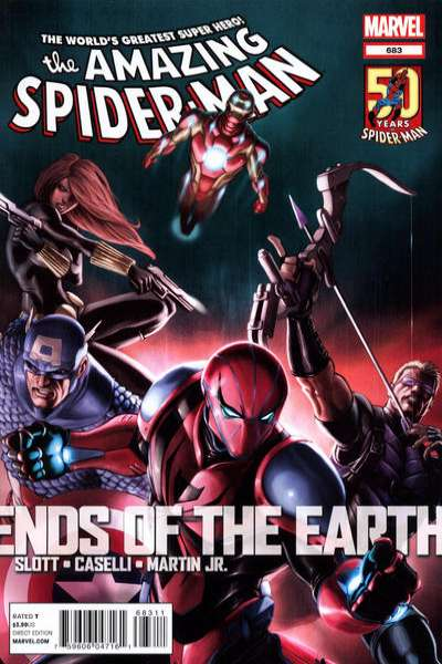 Amazing Spider-Man #683 comic books - cover scans photos Amazing Spider-Man #683 comic books - covers, picture gallery