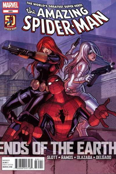 Amazing Spider-Man #685 Comic Books - Covers, Scans, Photos  in Amazing Spider-Man Comic Books - Covers, Scans, Gallery