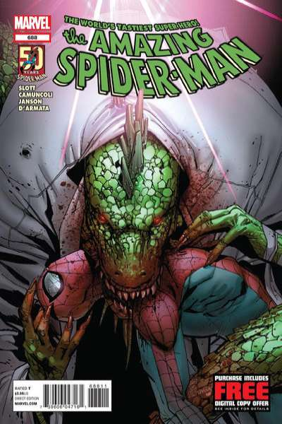 Amazing Spider-Man #688 Comic Books - Covers, Scans, Photos  in Amazing Spider-Man Comic Books - Covers, Scans, Gallery