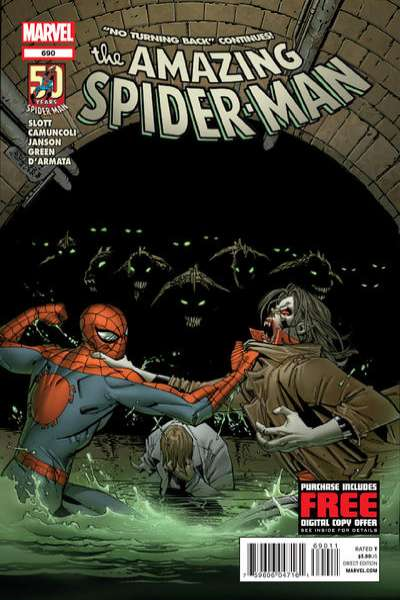Amazing Spider-Man #690 Comic Books - Covers, Scans, Photos  in Amazing Spider-Man Comic Books - Covers, Scans, Gallery