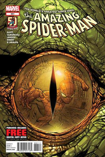 Amazing Spider-Man #691 Comic Books - Covers, Scans, Photos  in Amazing Spider-Man Comic Books - Covers, Scans, Gallery
