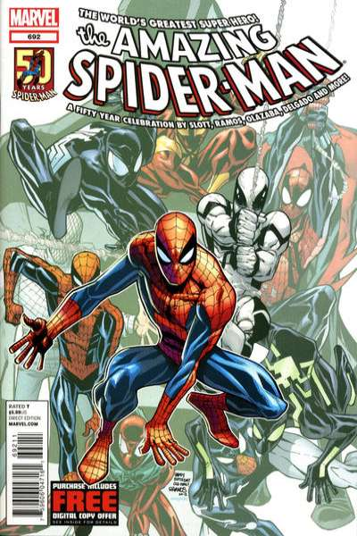 Amazing Spider-Man #692 Comic Books - Covers, Scans, Photos  in Amazing Spider-Man Comic Books - Covers, Scans, Gallery