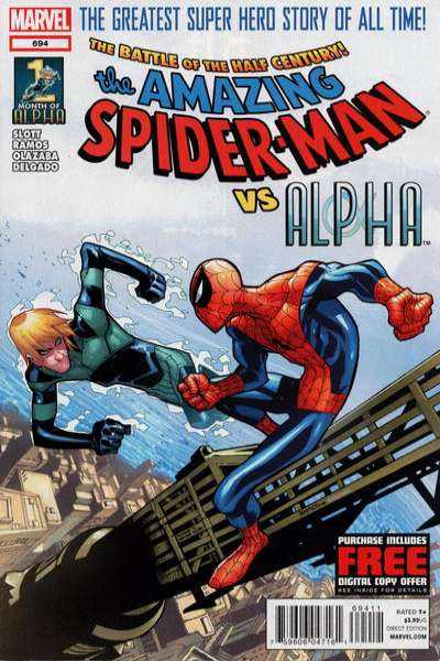 Amazing Spider-Man #694 Comic Books - Covers, Scans, Photos  in Amazing Spider-Man Comic Books - Covers, Scans, Gallery