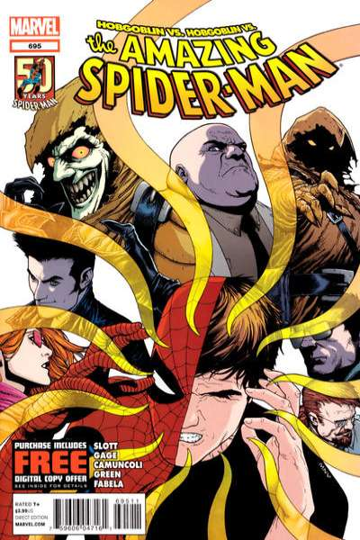 Amazing Spider-Man #695 Comic Books - Covers, Scans, Photos  in Amazing Spider-Man Comic Books - Covers, Scans, Gallery