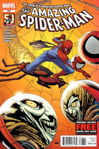 Amazing Spider-Man #697 Comic Books - Covers, Scans, Photos  in Amazing Spider-Man Comic Books - Covers, Scans, Gallery