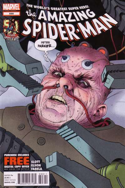 Amazing Spider-Man #698 Comic Books - Covers, Scans, Photos  in Amazing Spider-Man Comic Books - Covers, Scans, Gallery