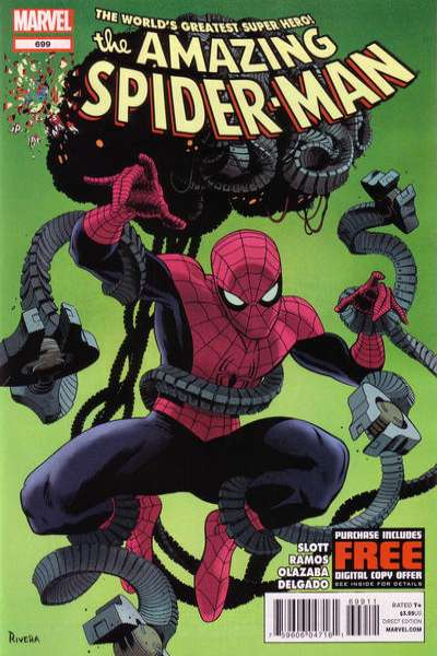 Amazing Spider-Man #699 Comic Books - Covers, Scans, Photos  in Amazing Spider-Man Comic Books - Covers, Scans, Gallery