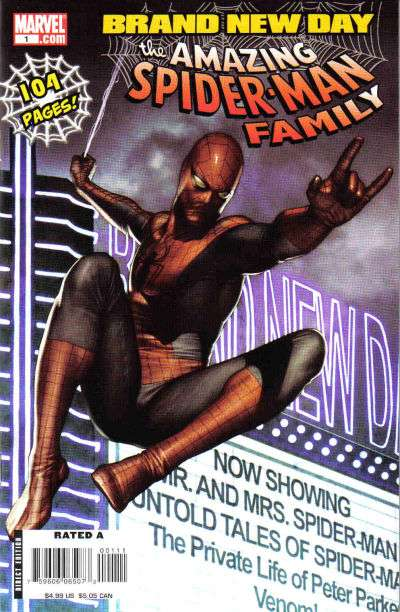 Amazing Spider-Man Family #1 Comic Books - Covers, Scans, Photos  in Amazing Spider-Man Family Comic Books - Covers, Scans, Gallery
