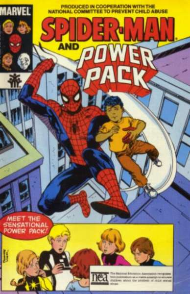 Amazing Spider-Man: National Committee for Prevention of Child Abuse #1 comic books for sale