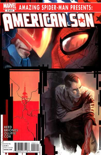 Amazing Spider-Man Presents: American Son #2 comic books - cover scans photos Amazing Spider-Man Presents: American Son #2 comic books - covers, picture gallery
