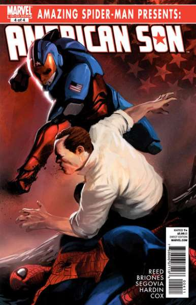 Amazing Spider-Man Presents: American Son #4 comic books - cover scans photos Amazing Spider-Man Presents: American Son #4 comic books - covers, picture gallery