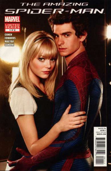 Amazing Spider-Man: The Movie #1 comic books - cover scans photos Amazing Spider-Man: The Movie #1 comic books - covers, picture gallery