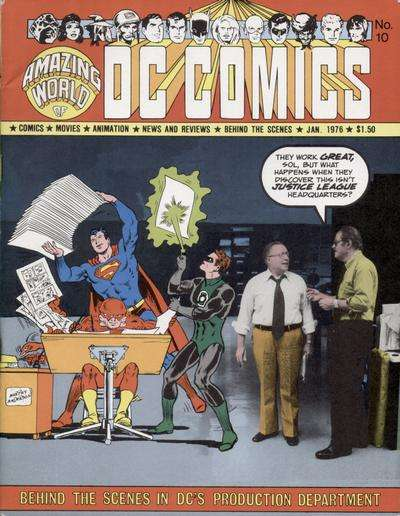Amazing World of DC Comics #10 Comic Books - Covers, Scans, Photos  in Amazing World of DC Comics Comic Books - Covers, Scans, Gallery