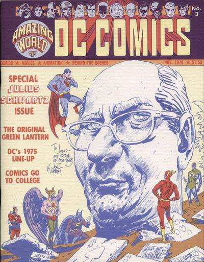 Amazing World of DC Comics #3 comic books - cover scans photos Amazing World of DC Comics #3 comic books - covers, picture gallery