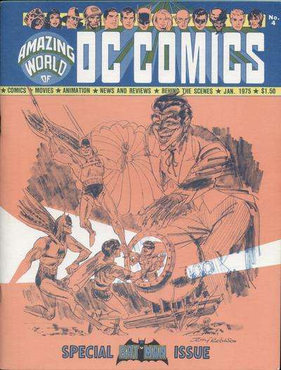 Amazing World of DC Comics #4 comic books for sale