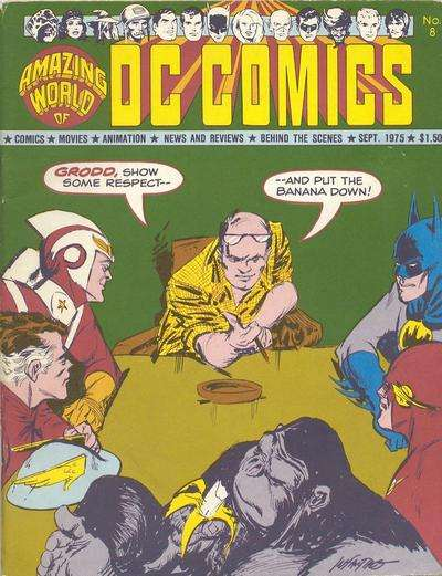 Amazing World of DC Comics #8 comic books - cover scans photos Amazing World of DC Comics #8 comic books - covers, picture gallery