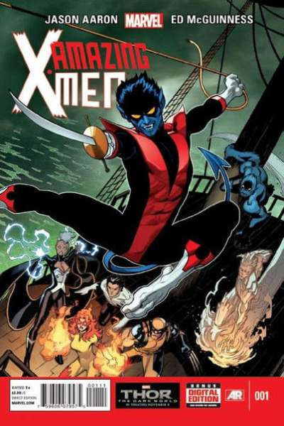 Amazing X-Men comic books