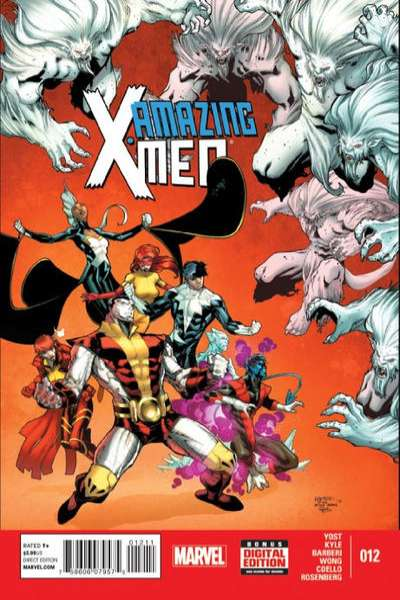 Amazing X-Men #12 comic books for sale