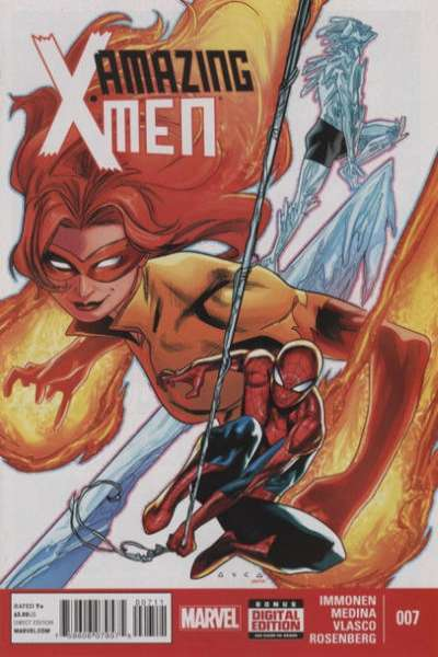 Amazing X-Men #7 comic books for sale