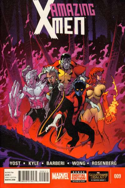 Amazing X-Men #9 comic books for sale