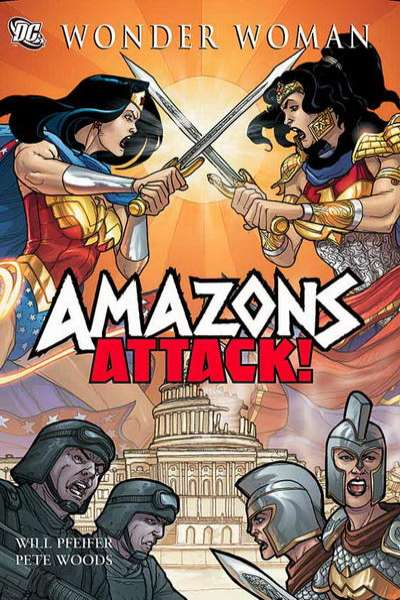 Amazons Attack #1 comic books for sale