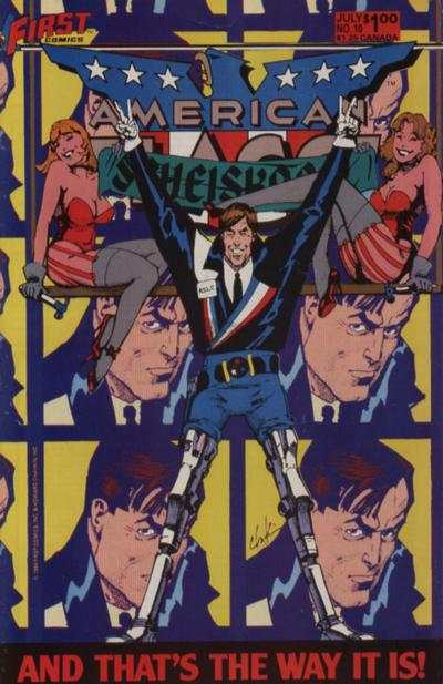 American Flagg! #10 Comic Books - Covers, Scans, Photos  in American Flagg! Comic Books - Covers, Scans, Gallery