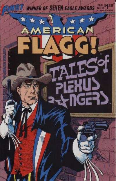 American Flagg! #17 comic books - cover scans photos American Flagg! #17 comic books - covers, picture gallery