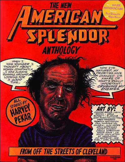 American Splendor Anthology comic books