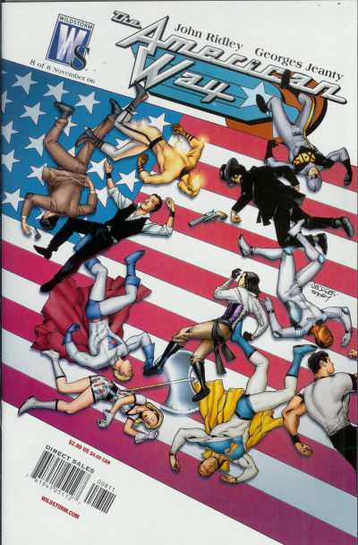 American Way #8 comic books - cover scans photos American Way #8 comic books - covers, picture gallery