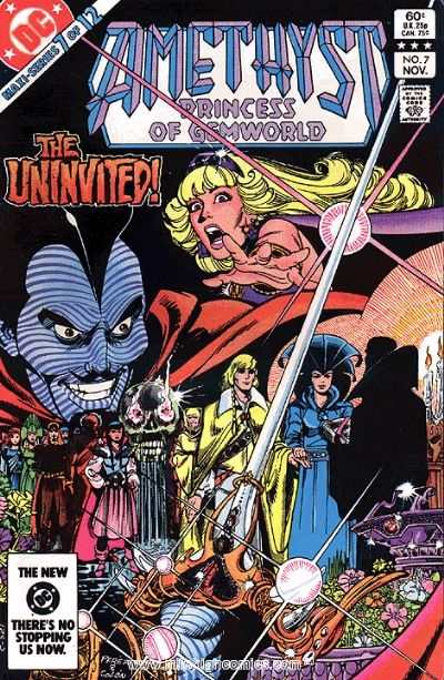 Amethyst: Princess of Gemworld #7 Comic Books - Covers, Scans, Photos  in Amethyst: Princess of Gemworld Comic Books - Covers, Scans, Gallery