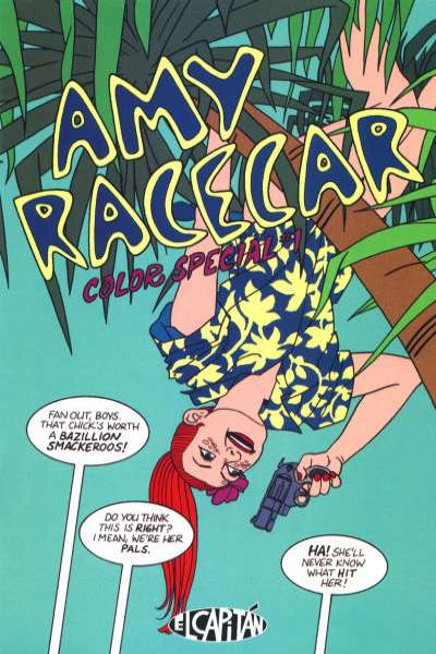 Amy Racecar Color Special #1 comic books for sale