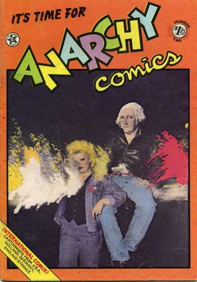 Anarchy Comics #2 comic books - cover scans photos Anarchy Comics #2 comic books - covers, picture gallery