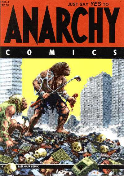 Anarchy Comics #4 comic books for sale