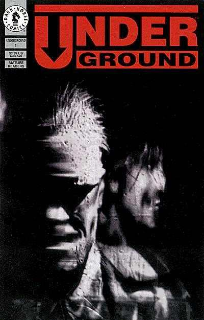 Andrew Vachss' Underground #1 comic books - cover scans photos Andrew Vachss' Underground #1 comic books - covers, picture gallery