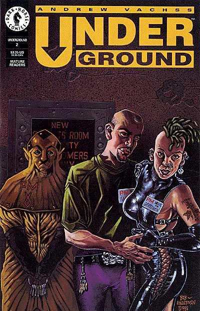 Andrew Vachss' Underground #2 Comic Books - Covers, Scans, Photos  in Andrew Vachss' Underground Comic Books - Covers, Scans, Gallery