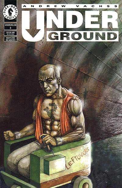 Andrew Vachss' Underground #3 comic books - cover scans photos Andrew Vachss' Underground #3 comic books - covers, picture gallery