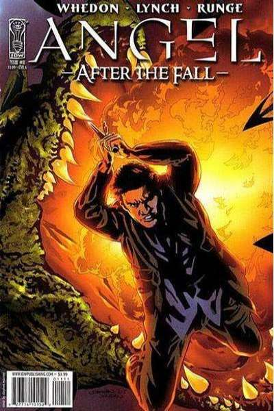 Angel: After the Fall #11 comic books - cover scans photos Angel: After the Fall #11 comic books - covers, picture gallery