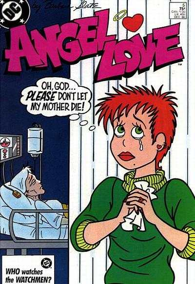 Angel Love #5 comic books - cover scans photos Angel Love #5 comic books - covers, picture gallery