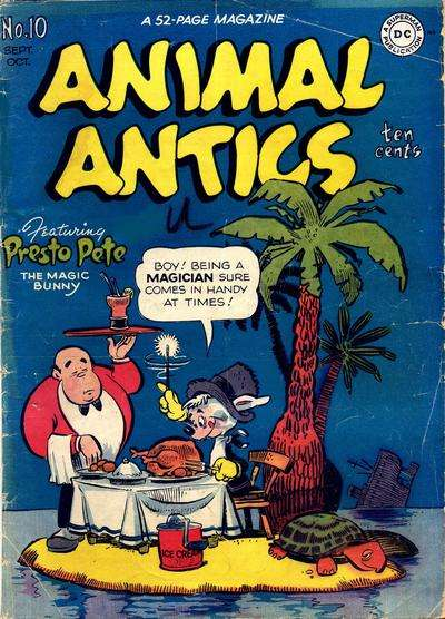 Animal Antics #10 comic books for sale