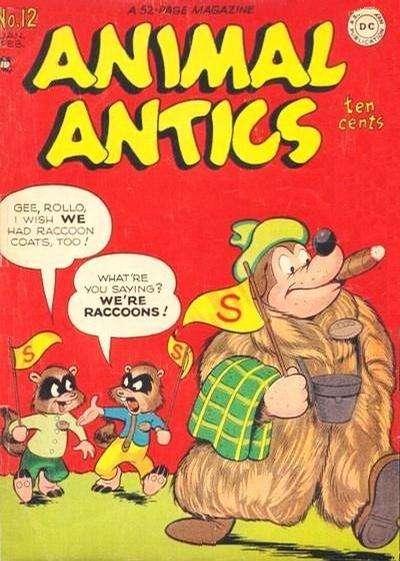 Animal Antics #12 Comic Books - Covers, Scans, Photos  in Animal Antics Comic Books - Covers, Scans, Gallery
