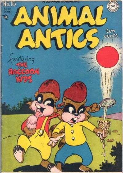 Animal Antics #16 Comic Books - Covers, Scans, Photos  in Animal Antics Comic Books - Covers, Scans, Gallery