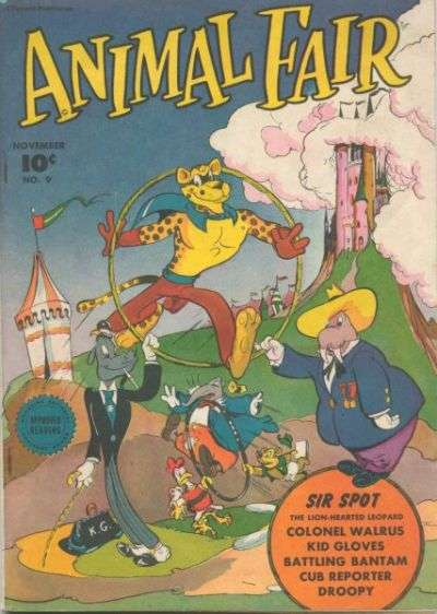 Animal Fair #9 comic books - cover scans photos Animal Fair #9 comic books - covers, picture gallery