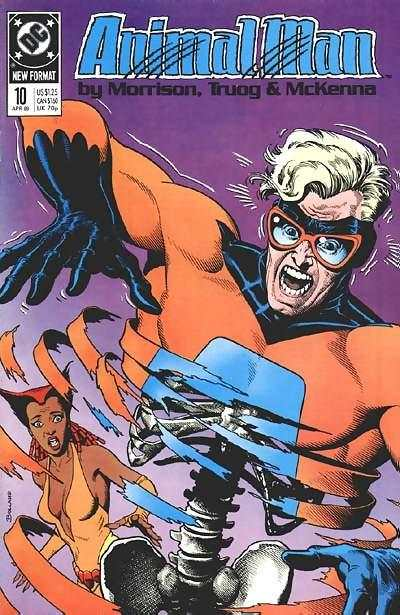 Animal Man #10 Comic Books - Covers, Scans, Photos  in Animal Man Comic Books - Covers, Scans, Gallery
